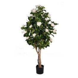 salg af Gardenia træ, hvide blomster, 100 cm. - Kunstige træer