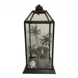 salg af Gaveide, Lanterne m/LED lys - 40 cm.