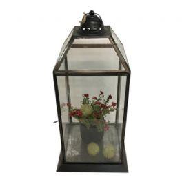 salg af Gaveide, lanterne m/pynt - 40 cm.
