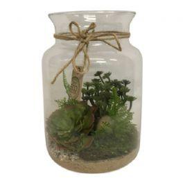 salg af Gaveide, planter i glas - Ø15*26 cm.