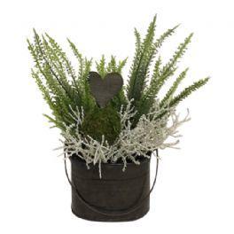 salg af Lyng dekoration, H25 cm. - kunstige blomster