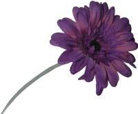 salg af Lilla gerbera, 50 cm. - kunstige blomster