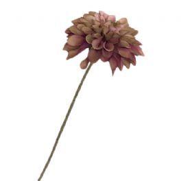 salg af Gl. rosa dahlia, 55 cm. - kunstig blomst