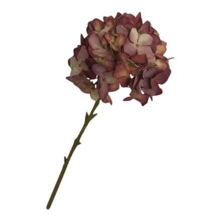 salg af Gl.rosa Hortensia, 45 cm. - kunstige blomster