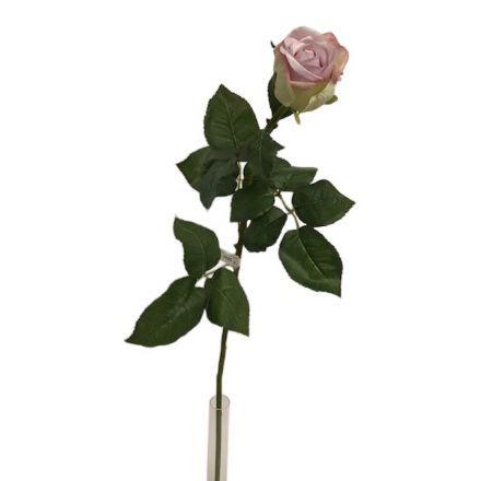 salg af Gl. rosa rose, 75 cm. - kunstige blomster