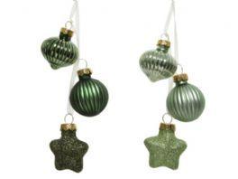 salg af Glaskugler, rund - 3.ass - lys grøn