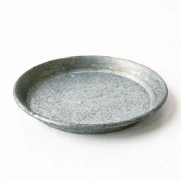 salg af Sink fad m/grønlig tone, Ø30 cm.
