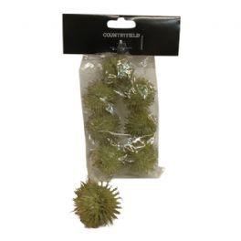 salg af Grønne deko kugler, 3 cm. - 7 stk.