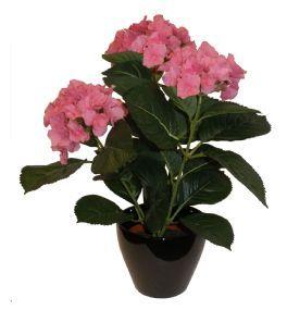 salg af Hortensia 38 cm. Pink - kunstige blomster