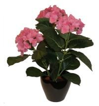 salg af Pink Hortensia, 38 cm. - kunstige blomster