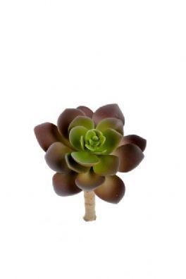 salg af Husløg, brun - 7*12 cm. - kunstige planter