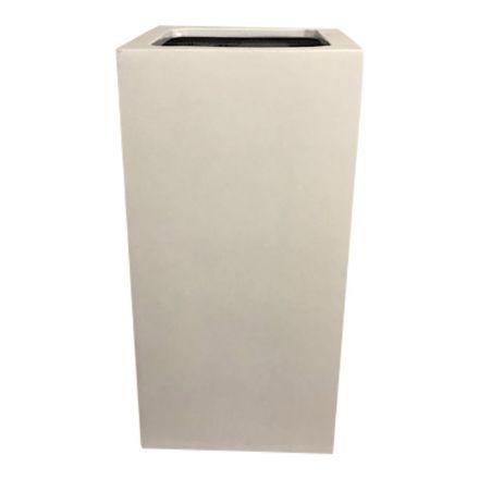 salg af Hvid glasfiber krukke, 30*30*60 cm.