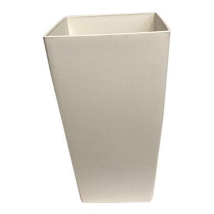 salg af Hvid krukke, plast - 30*55 cm.