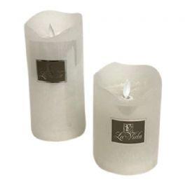 salg af Hvid LED bloklys - 8*11 cm. - kunstige lys