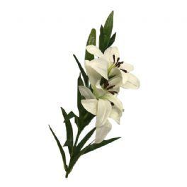 salg af Hvid lilje - 70 cm. - kunstige blomster