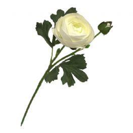 salg af Hvid ranunkel, 35 cm. - kunstige blomster