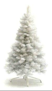 salg af Juletr� hvid 120 cm.