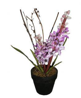 salg af Hyacinth lilla - kunstige blomster