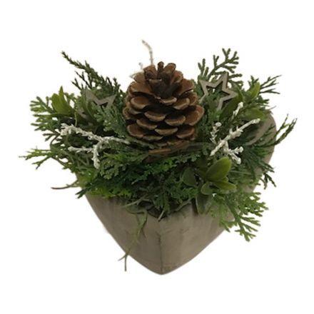 salg af Juledekoration, Natur - 10*13 cm.