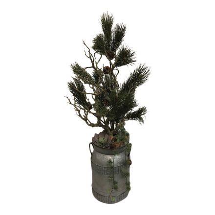 salg af Juledekoration, Natur - 40*100 cm. - kunstige juledekorationer