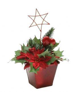 salg af Juledekoration rød