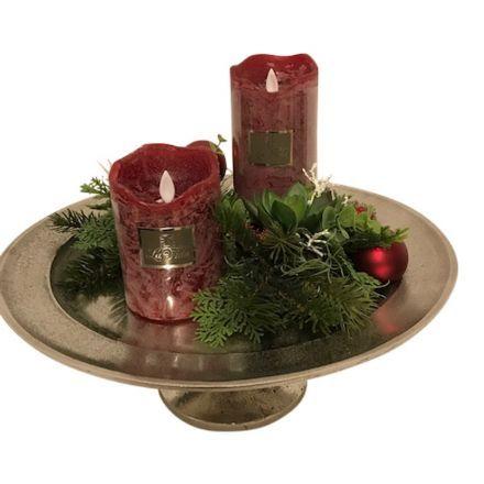 salg af Rød juledekoration, 35*30 cm. - kunstige juledekorationer