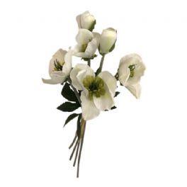 salg af Julerose, 4 stk. - 35 cm. - kunstige blomster