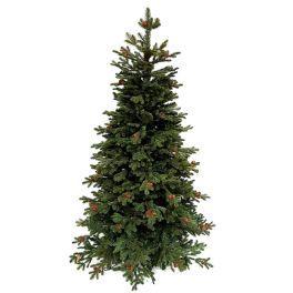 salg af Kunstig juletræ m/kogler 180 cm. - formstøbt - meget naturtro - m/metalfod