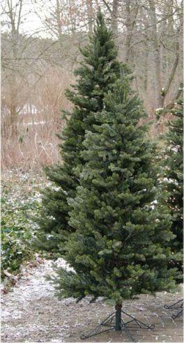 salg af Kunstig juletræ, 210 cm. - formstøbt - meget naturtro -m/metalfod