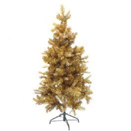 salg af Juletræ guld 160 cm.  m/ kogler
