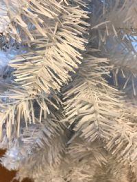 Juletræ hvid 120 cm.