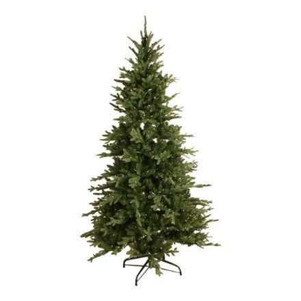 salg af Juletræ m/lys, formstøbt - 210 cm. - kunstige juletræer