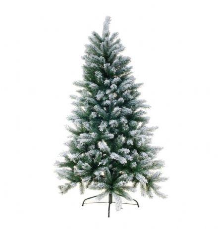 Unik Juletræ med sne, højde 150 cm. -kunstig juletræ - Kunstige Plastik DG02