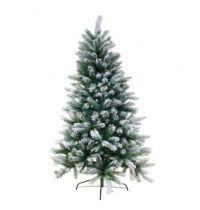 salg af Kunstig juletræ m/sne - 150 cm. - m/metalfod