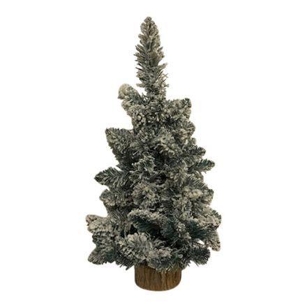 salg af Juletræ, m/sne - 45 cm. - kunstige juletræer
