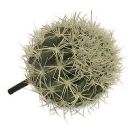 salg af Kaktus m/lyse pigge, Ø18 cm. - kunstige planter