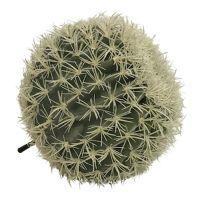 salg af Kaktus m/lyse pigge, Ø34 cm. - kunstige planter