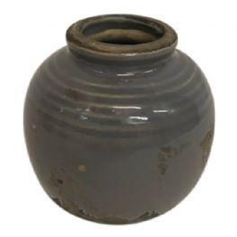 salg af Grå/brun vase, keramik - 8*8 cm.
