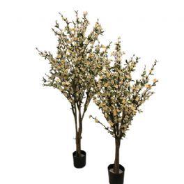 salg af Kirsebærtræ, hvid - opstammet - 140 cm. - kunstige træer
