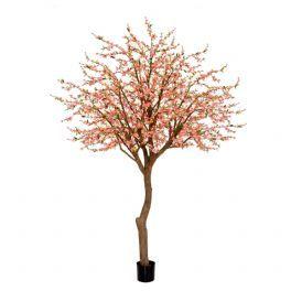 salg af Kirsebærtræ med lyse røde blomster - højde 350 cm. - Kunstige træer