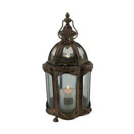 salg af Kobber lanterne, 40 cm.