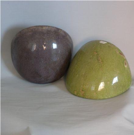 salg af Krukke til væg,Lilla, højde 14 cm. dybde 14 cm. bredde 22 cm.