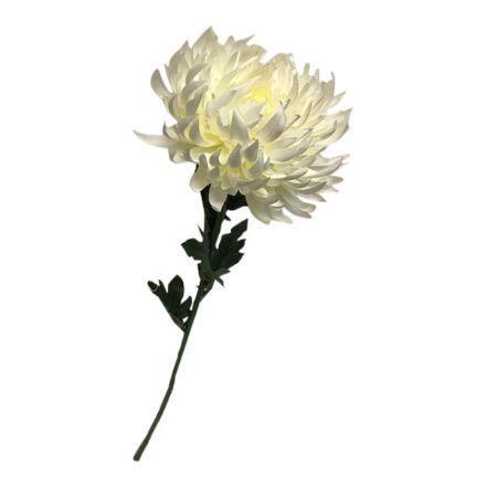 salg af Hvid Krysantemum, 64 cm. - kunstige blomster