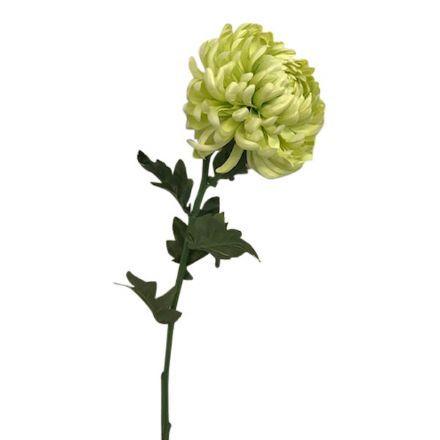 salg af Lime krysantemum, 60 cm. - kunstige blomster