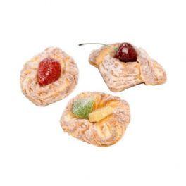 salg af Kunstig Winerbrød, 3 stk pr. pose - kunstige kager
