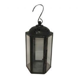 salg af Lanterne, sort jern - H12 cm.