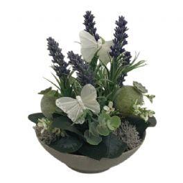 salg af Lavendel dekoration, H20 cm. - kunstige blomster