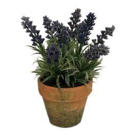 salg af Lavendel i mos skjuler - 19 cm. - kunstige blomster