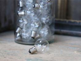 salg af LED pære, E 12/2500 kelvin - kunstig lys
