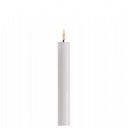 salg af LED stagelys, hvid - 2 stk. - 2*24 cm. - kunstige stearinlys
